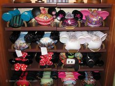 When you are visiting the Magic Kingdom, the best place to find your own Mickey Mouse Ear Hat would be on the right side of Main St. as you enter the park at a store aptly  named The Chapeau. Here you will discover an amazing assortment of Mickey Mouse Ear Hats. You are sure to find one that fits your personal style.