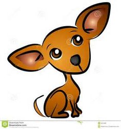 Cartoon Chihuahua Dog Clip Art Stock Illustration - Illustration of colors, illustrations: 2814896 Art And Illustration, Illustrations, Dog Tattoos, Cat Tattoo, Dachshund, Dog Clip Art, Cartoon Dog, Cartoon Clip, Chihuahua Love