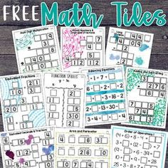 Math tiles are a hands-on activity that takes students' thinking beyond procedures and rote memorization. This engaging resource activates critical thinking and problem solving skills, all while developing algebraic thinking. Students must arrange 10 number