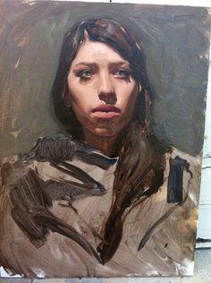 Sean Cheetham (alla prima painting)