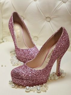 Two of my favorite things GLITTER and PINK!!!!!!!!!!!!!
