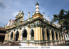 Mosque in Little India, Singapore