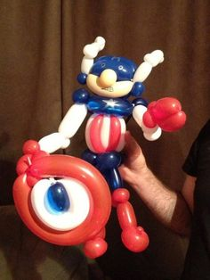 Captain America balloon! :)