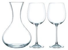 Cookinglife - Nachtmann Decanteerset Vivendi Premium 3-Delig Wine Glass, Modern Design, Tableware, Cups, Lush, Dinnerware, Contemporary Design, Tablewares, Dishes