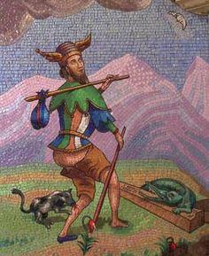 Tarot of Chateau Avenieres. The Fool. Clowns, Magie Du Chaos, The World Tarot, Le Tarot, Gothic Castle, The Hanged Man, The Hierophant, Online Tarot, Tarot Major Arcana