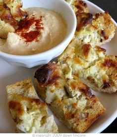 Artichoke bread.
