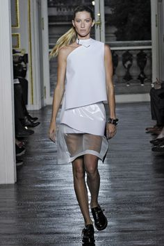 Balenciaga spring 2011. See Gisele Bundchen's 15 best runway moments.