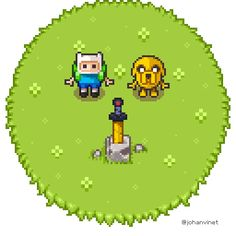 """What time is it?It's a little """"zeldish"""" tribute to Adventure Time!"""