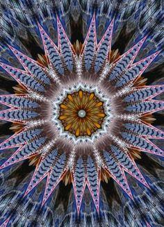 metal abstract mandala floral patterns