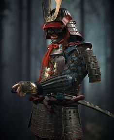 armor for tattoo idea/shoulder Ronin Samurai, Samurai Helmet, Samurai Costume, Samourai Tattoo, Samurai Warrior Tattoo, Samurai Artwork, Ninja Art, Armadura Medieval, Japanese Warrior