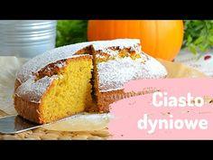 Prosty przepis na pyszne ciasto dyniowe! Idealne jako szybki deser do kawy lub podstawa jesiennego tortu :) Sprawdź instrukcję ze zdjęciami krok po kroku na ciastkożercach! Vanilla Cake, Food, Meals, Yemek, Eten