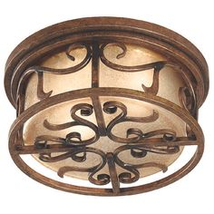 Verona Flush Mount Light by KenroyHome | Flush Mount Light Fixture