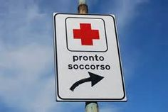 Coping with an emergency in the Italian language.