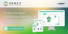 Fancy Product Designer Pricing Add-On | jQuery . Fancy has features such as High Resolution: No, Compatible Browsers: IE10, IE11, Firefox, Safari, Opera, Chrome, Edge, Software Version: jQuery
