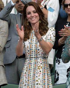 Fast schon exzentrisch zeigte sich Herzogin Kate beim Finale in Wimbledon, wo sie neben ihrem Mann in der Royal Box den Kontrahenten zujubelte.