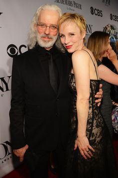 Terrence Mann and Charlotte d'Amboise attend The 67th Annual Tony Awards at Radio City Music Hall on June 9, 2013 in New York City.