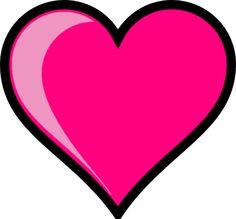 clip artHearts | Pink Heart clip art - vector clip art online, royalty free & public ...