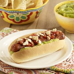 Mexican Grilled Franks