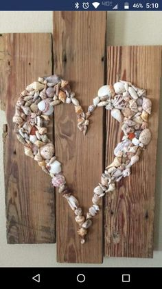 Cute use of shells glass crafts for kids Sea Crafts, Rock Crafts, Nature Crafts, Seashell Art, Seashell Crafts, Pista Shell Crafts, Seashell Projects, Shell Decorations, Deco Nature