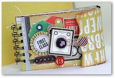 S-photo time: CretePaper Mini Book