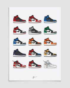 Image of ★ NEW ★ Air Jordan 1 Hype Collection