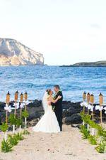 Makapu Beach Hawaii wedding