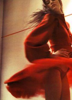 Isabeli Fontana by Glen Luchford for Vogue Paris