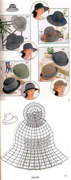 Exceptional Stitches Make a Crochet Hat Ideas. Extraordinary Stitches Make a Crochet Hat Ideas. Bonnet Crochet, Crochet Cap, Crochet Beanie, Love Crochet, Crochet Stitches, Knitted Hats, Sombrero A Crochet, Crochet Summer Hats, Knitting Patterns