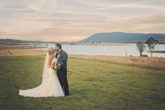 Wedding photography / sunset wedding photography / Couples portraits / Bride and Groom / Kilcoy