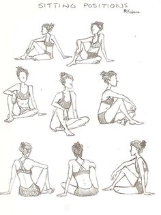 People Drawing Sitting Poses   Sketch Female Lying On Side Sketch Templates