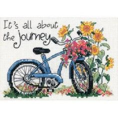 DIMENSIONS-Mini Counted Cross Stitch. Dress up your home with one of Dimensions creative kits. This kit contains 14 count white cotton Aida; cotton thread; needles and easy instructions. Frame and mat