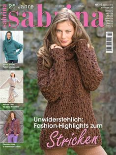 "Photo from album ""Sabrina on Yandex. Crochet Book Cover, Crochet Books, Knit Crochet, Knitting Magazine, Crochet Magazine, Fashion Star, Journal, Pattern Books, Lana"