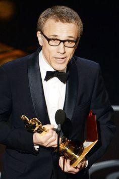 Wir gratulieren: Christoph Waltz gewinnt den Oscar 2013 als bester Nebendarsteller Foto: © Getty Images