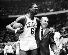 Today in 1966, Bill Russell became 1st black coach in NBA history (Boston Celtics).