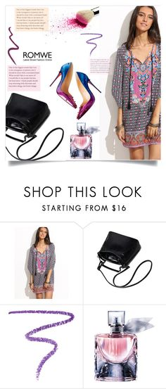 """""""Untitled #1679"""" by kriz-nambikatt on Polyvore featuring Marc Jacobs, Lancôme and Topshop"""