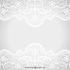 Floral Motif Ornament Vectors, Photos and PSD files Floral Motif, Floral Lace, Black And Silver Wallpaper, Free Vector Images, Vector Free, Image Border, Victorian Wallpaper, Paper Lace, Shabby