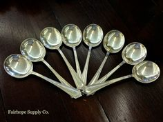 Sterling Silver Gumbo Spoons -  Fairhope Supply Co.