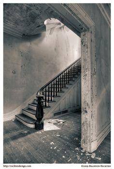 steam punk stair case