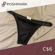 Oakley Swim Bottoms Black with mesh detailing Oakley Swim Bikinis