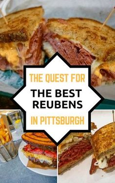We believe to truly a measure a sandwich shop's worth, you have to go for the Reuben- and we're on a hunt to find the best Reuben sandwich in Pittsburgh! Best Reuben Sandwich, Sandwich Shops, Visit Pittsburgh, Pittsburgh Restaurants, Travel Advice, Travel Guides, Travel Tips, Usa Travel, Good Food