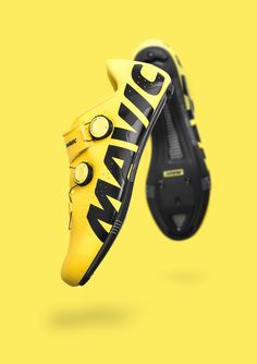 Mavic bike shoes photographed for ProCycling Magazine