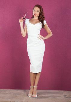 Billion Dollar Baby dress by Stop Staring / white bridal shower dress