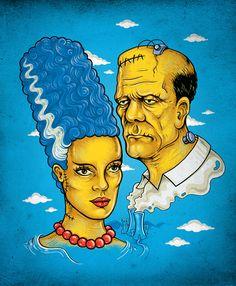 Frankenstein Simpsons                                                                                                                                                                                 Plus