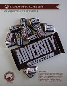 Bittersweet Adversity - Personal Progress Faith #3 & FHE Lesson