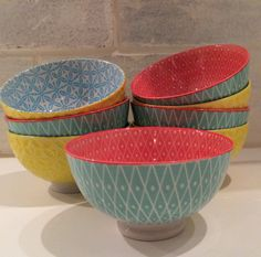 Dish Fetish article. Serving Bowls, Beautiful Things, Shapes, Dishes, Mom, Tableware, How To Make, Dinnerware, Tablewares