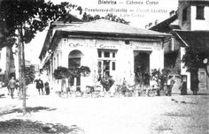 Bistrita - Cafenea Corso - interbelica Vintage Photographs, Romania, Outdoor, Painting, Art, Art Background, Outdoors, Painting Art, Kunst