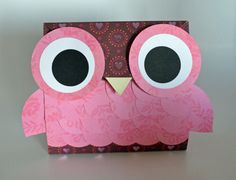 Owl Valentine's Day Party Treat Bags Goody Bags