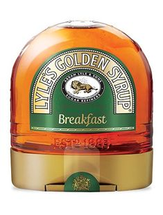 Wake up to more smiles at breakfast by simply popping the Lyle's Breakfast Bottle on the table every morning. Even sleepy heads can manage its easy-to-squeeze shape. And Lyle's Golden Syrup is perfect Sleepy Head, Golden Syrup, Bottle Sizes, Jukebox, Shape, Breakfast, Board, Easy, Table