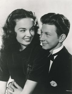 Ann Blyth & Donald O'Connor<< whoa! Never seen them together! Awesome!