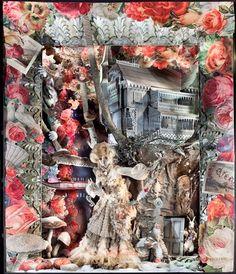 Improbable Lodgings and Feline Mischief - A Compendium of Curiosities - 2009 Holiday Window Displays at Bergdorf Goodman | #holiday #christmas #decoration #interior #santa #movie #theme #animatronics #lights #retail #icsc #cre | arkansasconstruction.co and Facebook.com/cni.arkansas